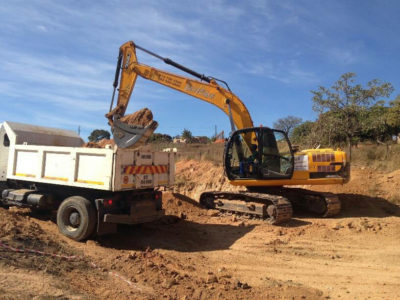 Plant hire equipment white river