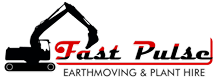 Fast Pulse Plant Hire Logo