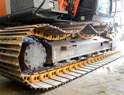 Maintaining the Undercarriage of an Excavator
